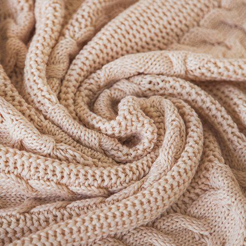 Комплект LILIAN пшеничный: покрывало и наволочки