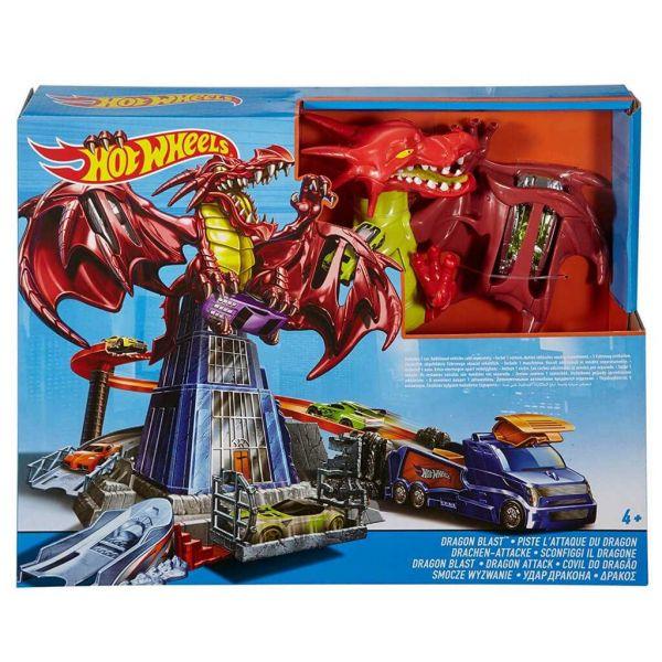 "Hot Wheels Игровой набор ""Атака дракона"""