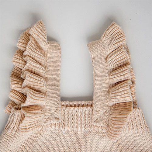 Комплект MILKY пшеничный: боди и шапочка