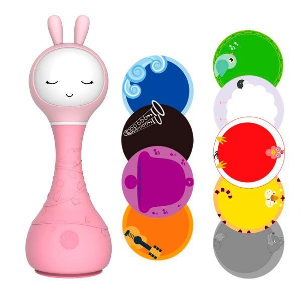 Розовый Зайка alilo R1 Музыкальная игрушка
