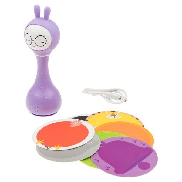 Фиолетовый Зайка alilo R1 Музыкальная игрушка