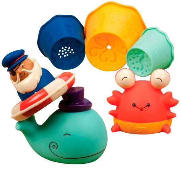 Набор игрушек для ванной Давай плескаться B.Toys (Battat)