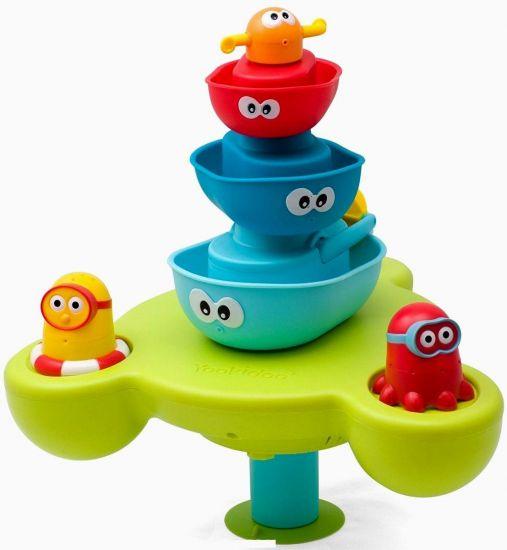 Yookidoo игрушка водная Веселый фонтан пирамидка