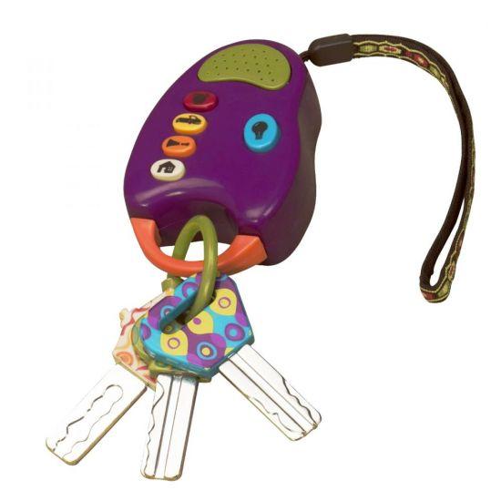 Игрушечные ключи от машины Fun Keys B.Toys (Battat)