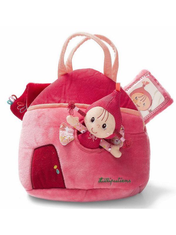 Набор Красная шапочка: кукла и аксессуары в сумочке Lilliputiens