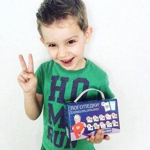 Логопедки Подарочный набор для детей Вундеркинд с пеленок