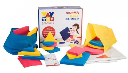 Форма, цвет, размер VAY TOY подвижная развивающая игра