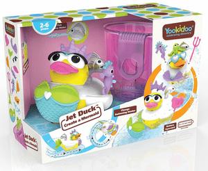 Yookidoo игрушка водная Утка-русалка с водометом и аксессуарами