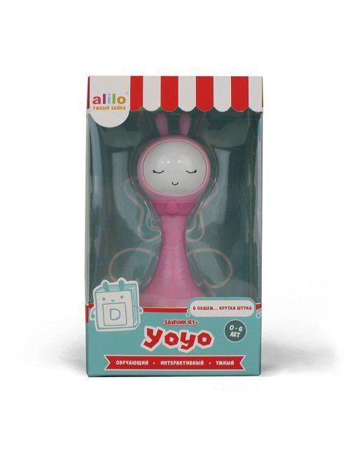 Музыкальная игрушка. Умный зайка alilo R1+ YoYo розовый