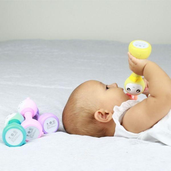 Музыкальная игрушка. Умный зайка alilo R1+ YoYo желтый